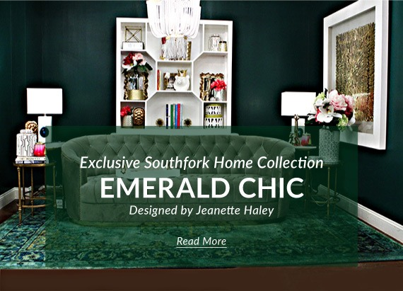 Southfork Lighting - Emerald Chic featuring ELK Lighting products