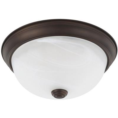 "Capital Lighting 21902 Two Light Flush Mount 4.5"" Two Light Flush Mount"