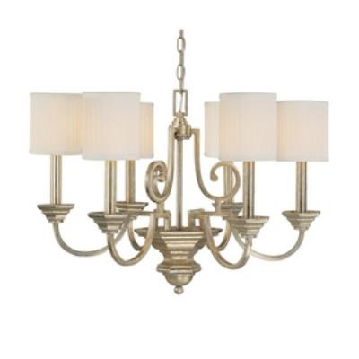 Capital Lighting 4006WG-484 Fifth Avenue - Six Light Chandelier