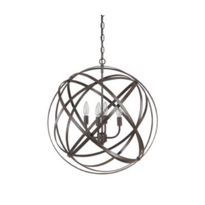 Capital Lighting 4234RS Axis - Four Light Pendant