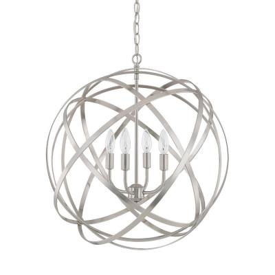 Capital Lighting 4234BN Axis - Four Light Pendant