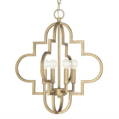 Capital Lighting 4541BG Ellis - Four Light Pendant