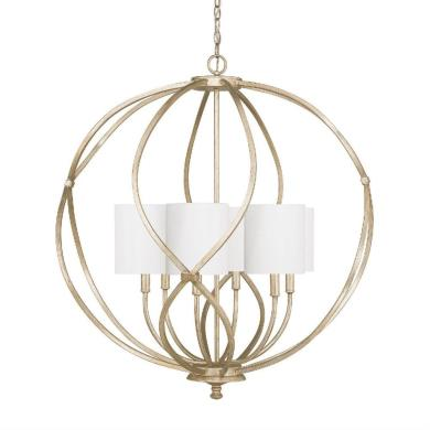 Capital Lighting 4720WG Bailey - Six Light Pendant