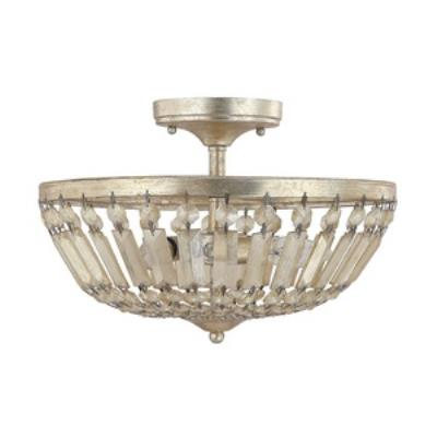 Capital Lighting 9173WG Fifth Avenue - Three Light Semi-Flush Mount