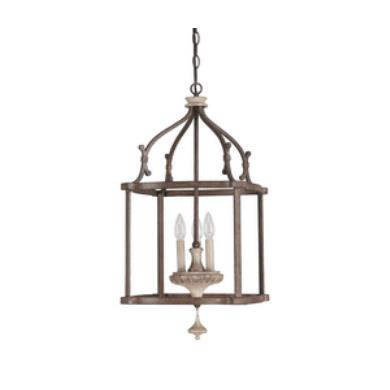 Capital Lighting 9472FO Chateau - Three Light Foyer