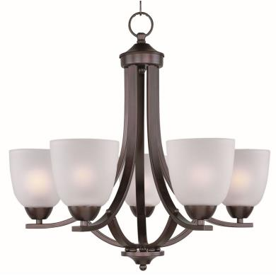 Maxim Lighting 11225FTOI Axis - Five Light Chandelier