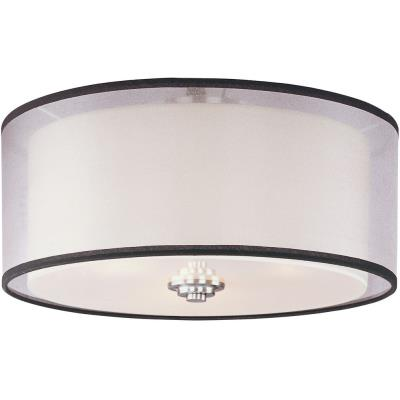 Maxim Lighting 23031SWSN Orion - Three Light Flush Mount