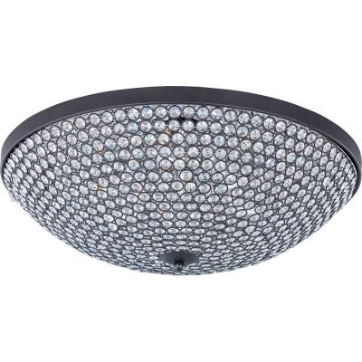 Maxim Lighting 39873BCBZ Glimmer - Nine Light Flush Mount