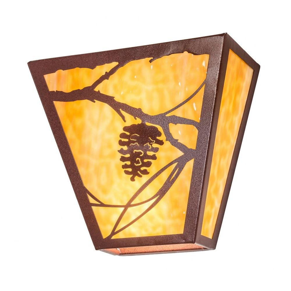 Meyda Tiffany 225720 13 Inch Wide Whispering Pines Wall Sconce
