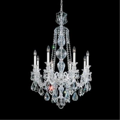 Schonbek Lighting 5707 Hamilton - Eight Light Chandelier