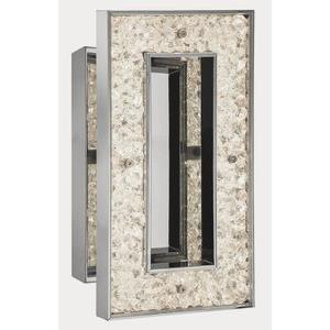 Crushed Ice - 12 Inch 18W 90 LED Wall Sconce