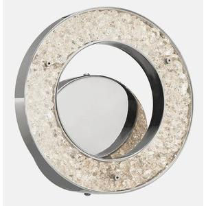 Crushed Ice - 9.75 Inch 15W 75 LED Wall Sconce