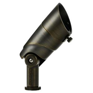 5.5W 1 LED 60 Degree Wide Flood Adjustable Small Accent Light 3.75 inches tall by 2 inches wide