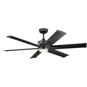 Szeplo Patio - Outdoor Ceiling Fan with Light Kit - 16.25 inches tall by 60 inches wide