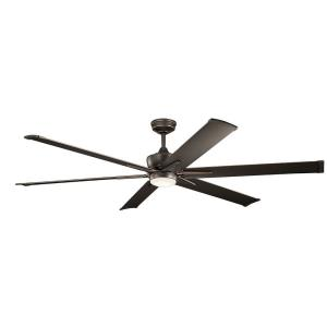 Szeplo Patio - Ceiling Fan with Light Kit - 16.25 inches tall by 80 inches wide