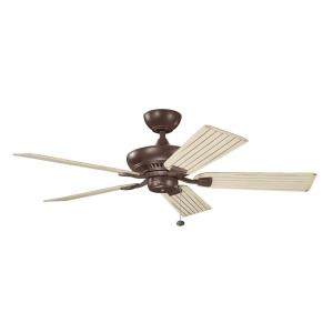 Climates - Ceiling Fan Motor Only - with Traditional inspirations - 13 inches tall by inches wide