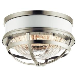 Tollis - 2 light Flush Mount - 7.75 inches tall by 12 inches wide