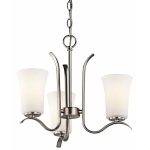 Armida - 3 Light Mini Chandelier - with Transitional inspirations - 14.25 inches tall by 18 inches wide
