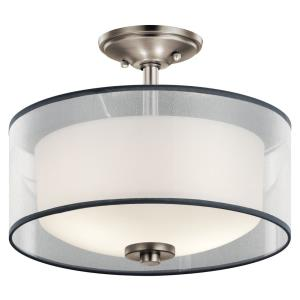 Tallie - 2 light Semi-Flush Mount - 11.5 inches tall by 13.5 inches wide