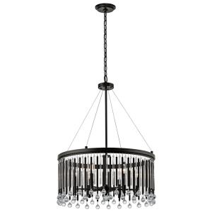Piper - 6 Light Chandelier - 24 inches wide