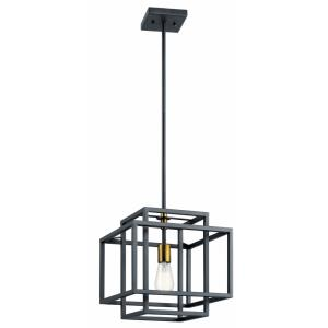 Taubert - 1 light Pendant - 13 inches tall by 12 inches wide