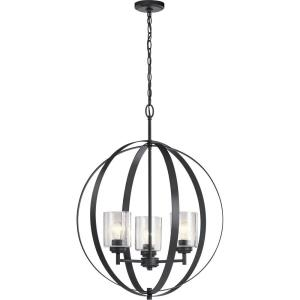 Winslow - 3 Light Medium Round Chandelier - 30.75 Inches Tall by 24.5 Inches Wide