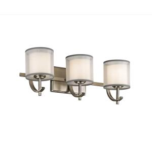 Tallie - 3 Light Swing Arm Bath Vanity Approved for Damp Locations - with Transitional inspirations - 7.5 inches tall by 20.5 inches wide