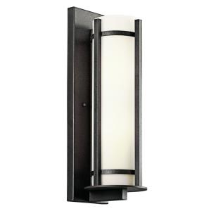 Camden - 2 light Outdoor Wall Mount - with Lodge/Country/Rustic inspirations - 19.5 inches tall by 6.25 inches wide
