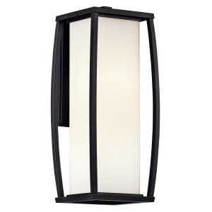 Bowen - 2 light Outdoor Wall Lantern - with Transitional inspirations - 18 inches tall by 7.25 inches wide