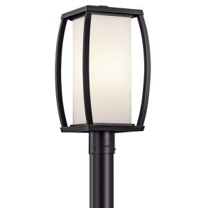 Bowen - 1 light Outdoor Post Mount - with Transitional inspirations - 18.5 inches tall by 9 inches wide