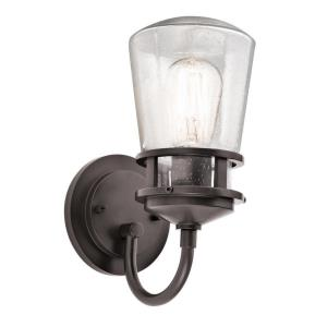 Lyndon - 1 light Outdoor Wall Lantern - with Coastal inspirations - 11.25 inches tall by 5 inches wide