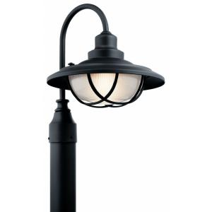 Harvest Ridge - 1 light Outdoor Post Lantern - with Lodge/Country/Rustic inspirations - 15.75 inches tall by 13 inches wide