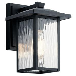 Capanna - 1 light Small Outdoor Wall Lantern - with Transitional inspirations - 10.25 inches tall by 6.5 inches wide