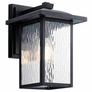 Capanna - 1 light Medium Outdoor Wall Lantern - with Transitional inspirations - 13.25 inches tall by 8.5 inches wide