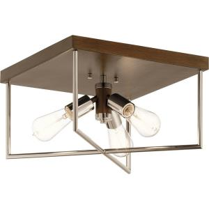 Tanis - 3 light Flush Mount - 8.5 inches tall by 14 inches wide