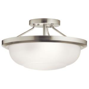 Ritson - 2 Light Semi-Flush Mount - 13.5 inches wide