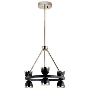 Baland - 22 Inch 6 LED Small Chandelier