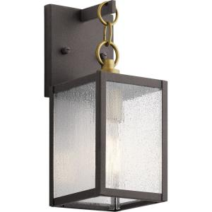 Lahden - 1 light Medium Outdoor Wall Lantern - with Lodge/Country/Rustic inspirations - 16.75 inches tall by 7 inches wide