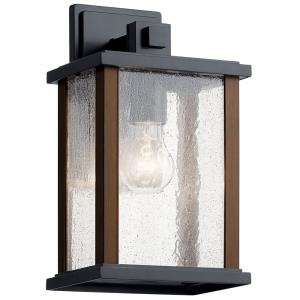 Marimount - 1 light Medium Outdoor Wall Lantern - with Lodge/Country/Rustic inspirations - 12.75 inches tall by 7.5 inches wide