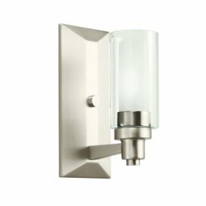 Circolo - Contemporary 1 Light Wall Sconce - with Soft Contemporary inspirations - 10 inches tall by 4.5 inches wide