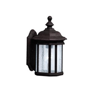 Kirkwood - 1 light Outdoor Wall Mount - with Traditional inspirations - 13 inches tall by 6.5 inches wide