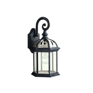 New Street Series 08 Outdoor - 1 light Outdoor Wall Bracket - with Traditional inspirations - 15.5 inches tall by 8 inches wide