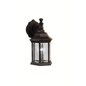 Chesapeake - 1 light Small Outdoor Wall Mount - with Traditional inspirations - 12 inches tall by 6.5 inches wide
