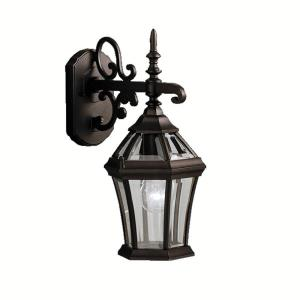 Townhouse - 1 light Outdoor Wall Bracket - 15.25 inches tall by 7.25 inches wide