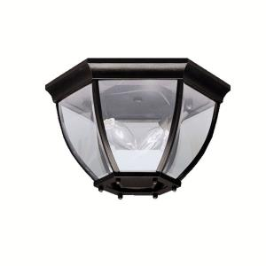 Townhouse - 2 light Outdoor Flush Mount - 7 inches tall by 12 inches wide